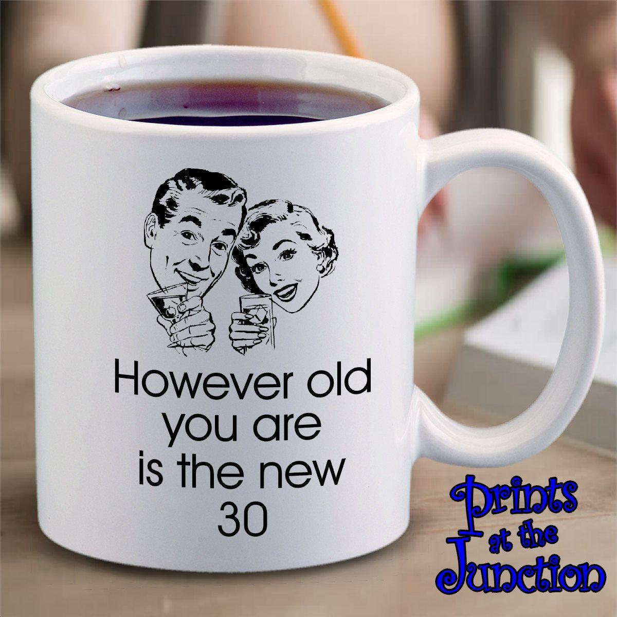 Funny Retro Birthday Mug Gift/Retro Meme Coffee Mug