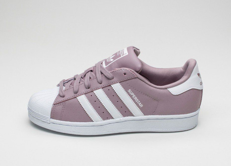 adidas superstar (blanch viola / vintage white)