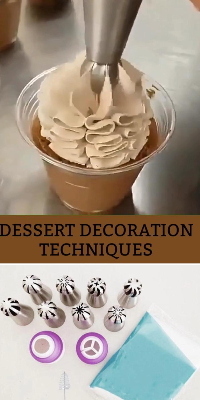 Desserts decoration