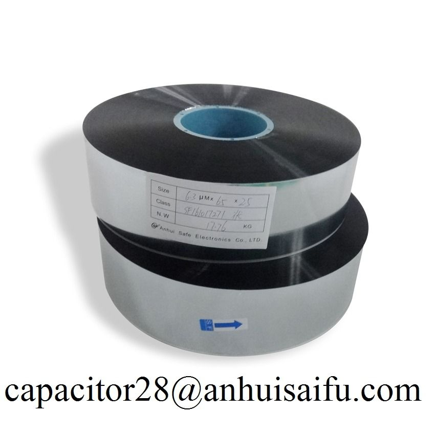 The Metallized Film Capacitor Grade Capacitor Electronic Products Film