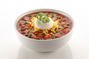 Fat-Melting Vegetarian Chili  **Eating the right foods is crucial to weight loss. This vegetarian chili is hearty, tasty and has all of the right fat-fighting ingredients to help you slim down. The protein-rich beans help build muscle, while the hot spices boost your metabolism to burn fat. Perfect for a family meal or to freeze and eat later, this recipe will help you drop those extra pounds.