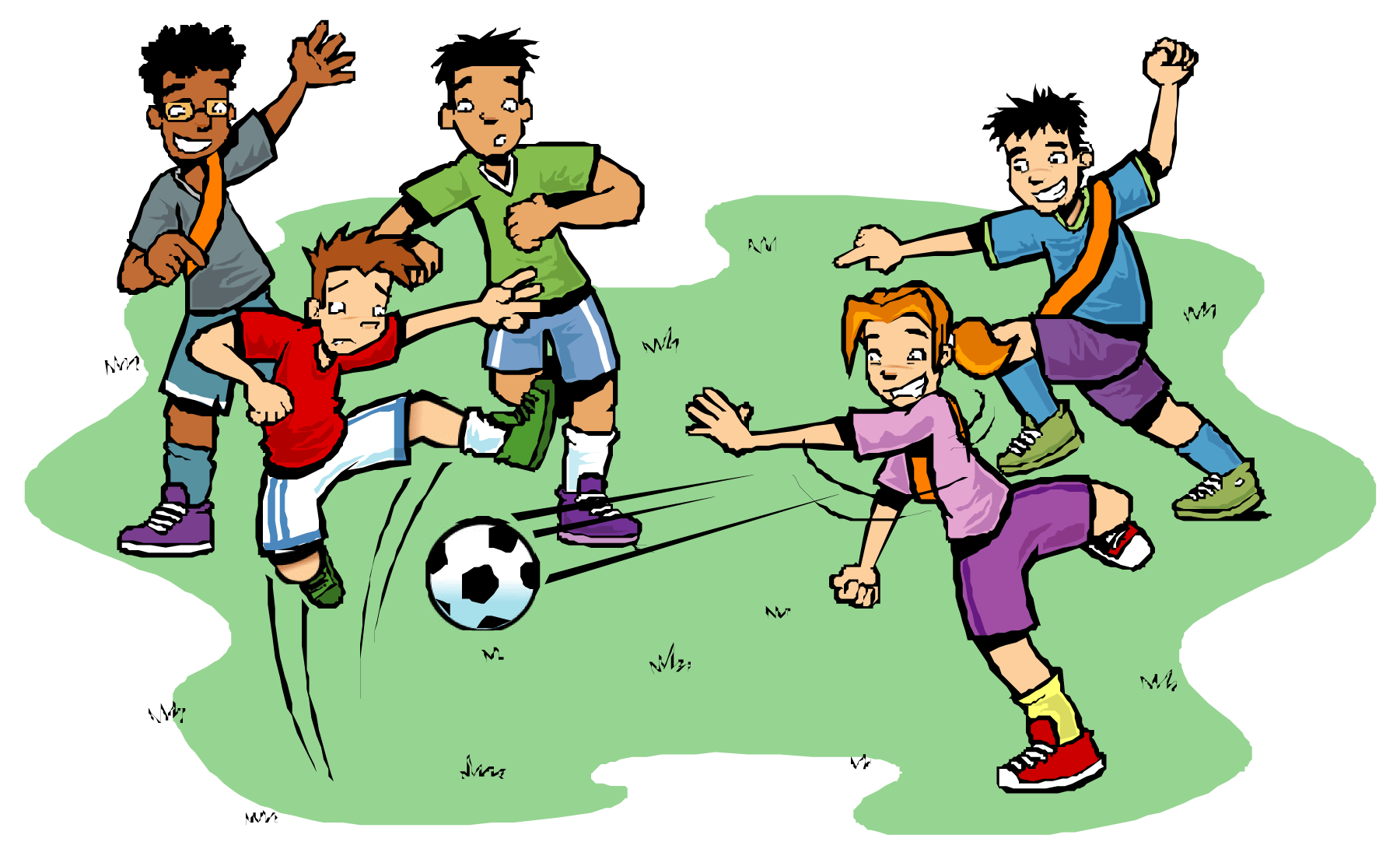 Gambar Kartun Anak Kids Pinterest Cartoon Soccer Players