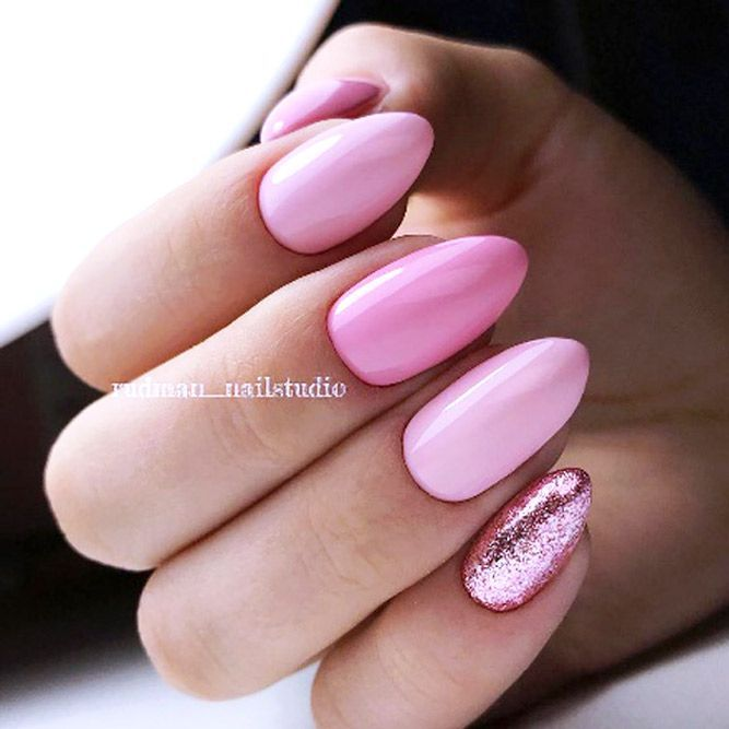 Explore Designs For Short Medium And Long Almond Nails In Black White Blue Red Pink Purple Dark Pastel Peach Burgundy Hues