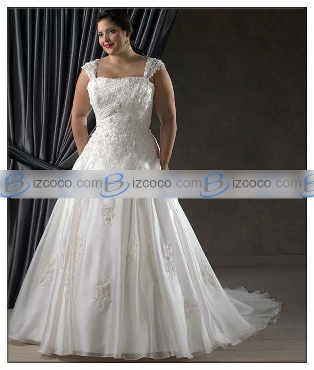 Cheap Plus Size Wedding Buy Quality Dress Directly From China Dresses Suppliers Vestido De Noiva Splendid A Line Square