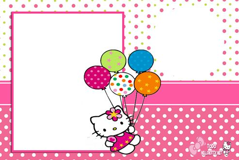 Etiquetas De Hello Kitty 2 Jpg 493 329 Hello Kitty Birthday Invitations Hello Kitty Invitations Hello Kitty Invitation Card