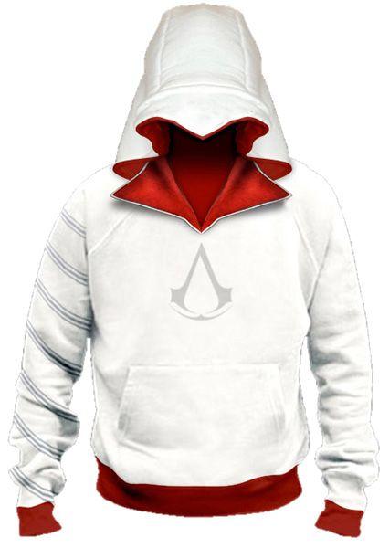 Vestiti Eleganti World Of Warcraft.Assassins Creed Ezio Auditore Hoodie Jacket Pullover Everyday Use