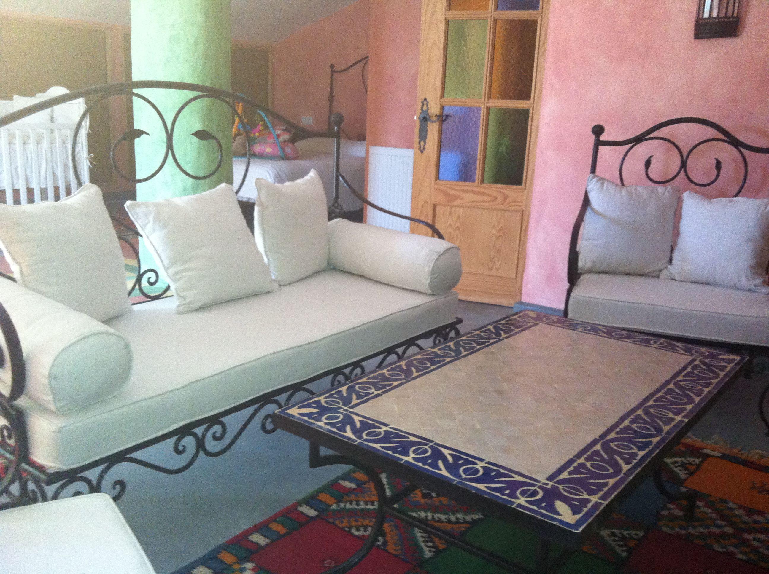 Sofa de forja tresillo almamed pinterest sof for Sofas el tresillo