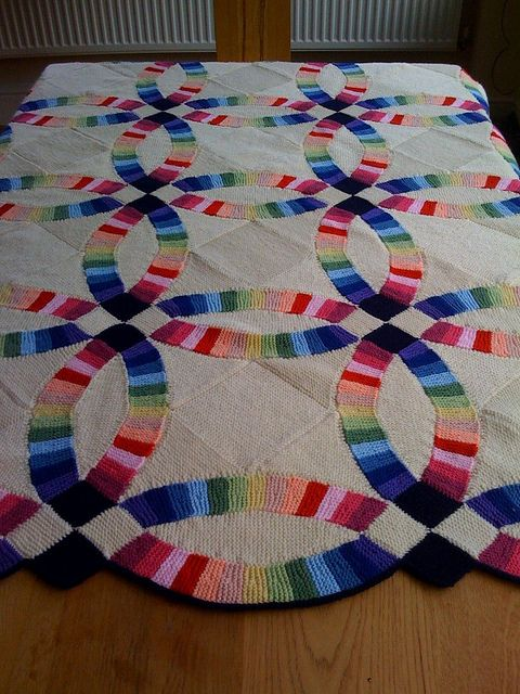Double Wedding Ring Quilt pattern by Sharon OBrien Ravelry Ring