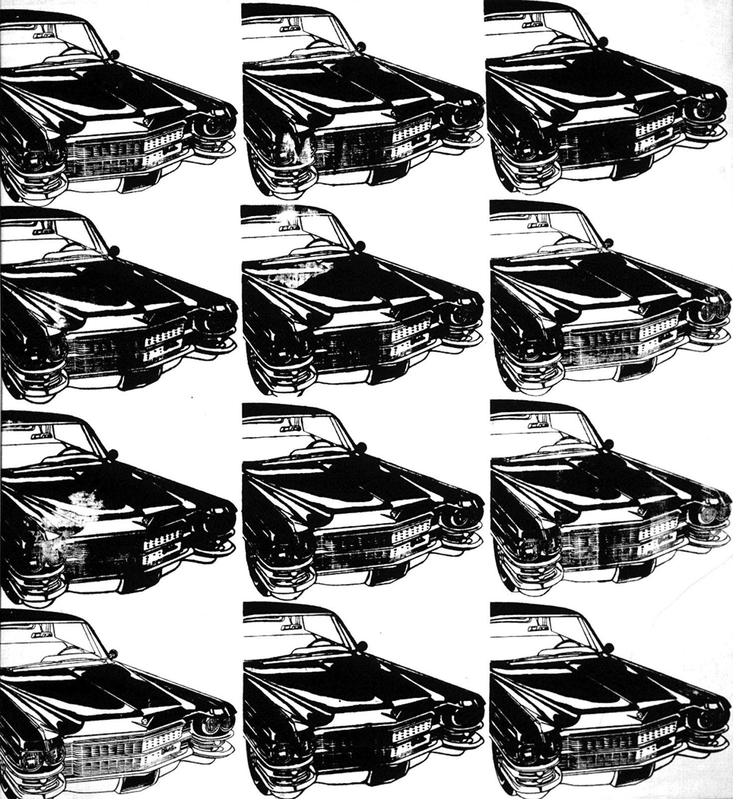 Twelve Cadillacs By Andy Warhol