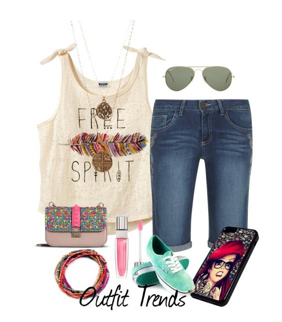 Cute Teenage Clothing Simple Summer Outfits For Girls Addicfashion