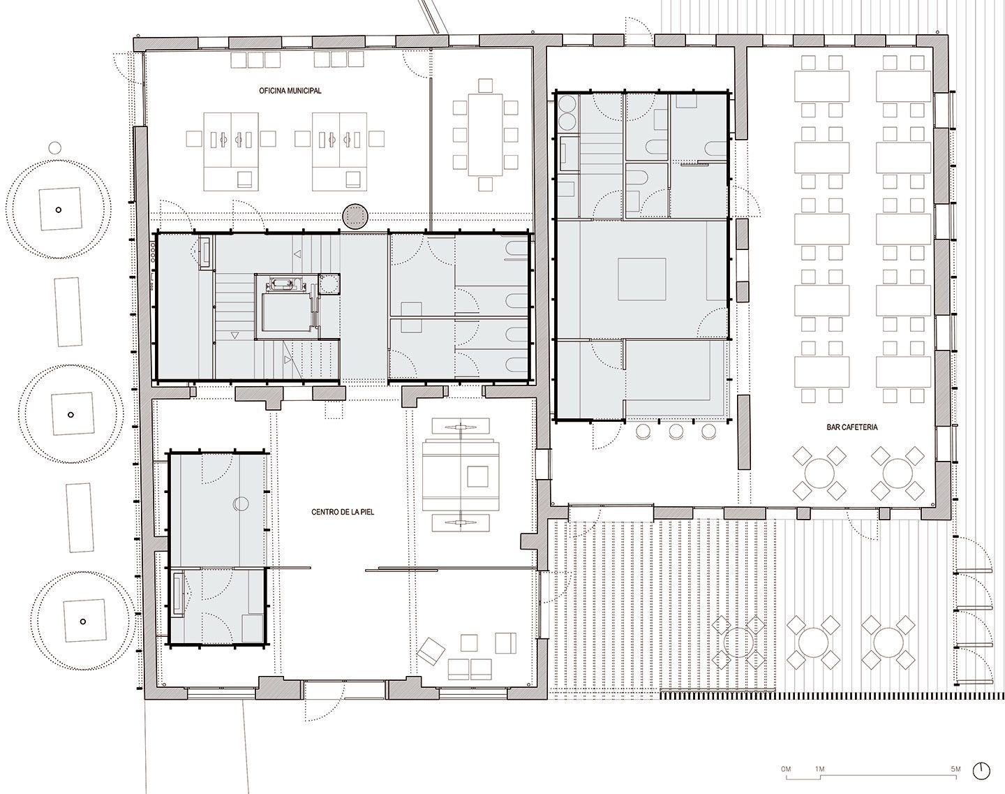 Taller 9S Arquitectes, Adrià Goula · Rehabilitation of old Tanneries as European Headquarters of the Quality Leather Center. Barcelona, Spain · Divisare