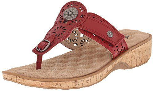 3a744d8e11a SoftWalk Women s Beaumont Wedge Sandal - ShopStyle