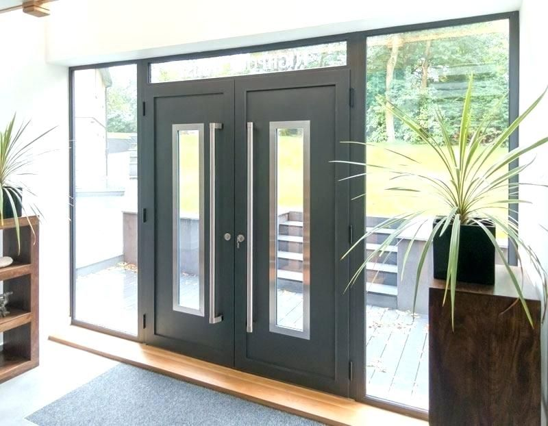 finest selection 5094c 4a9a3 black double front doors modern double front doors ...