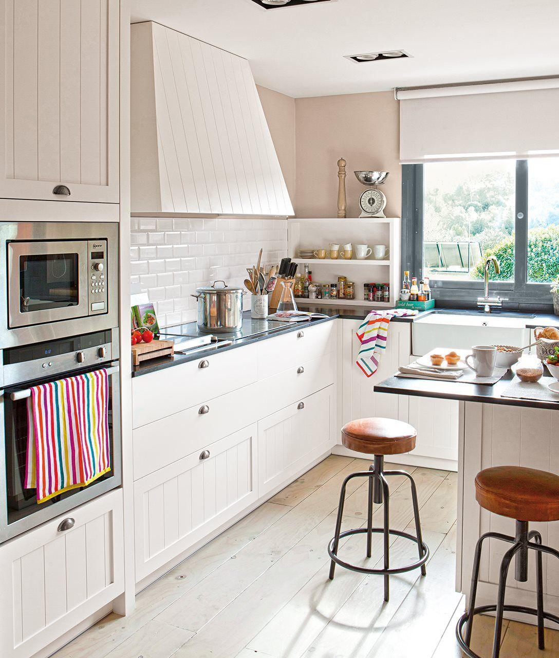 10 Cocinas Pequenas Con Maxi Ideas Decoracion De Cocina Cocinas