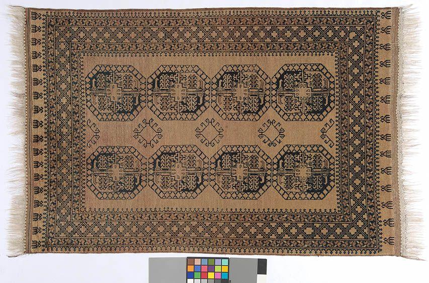 Braun Er Teppich By KISKAN PROCESS HAMBURG Orientteppich Gefrbter