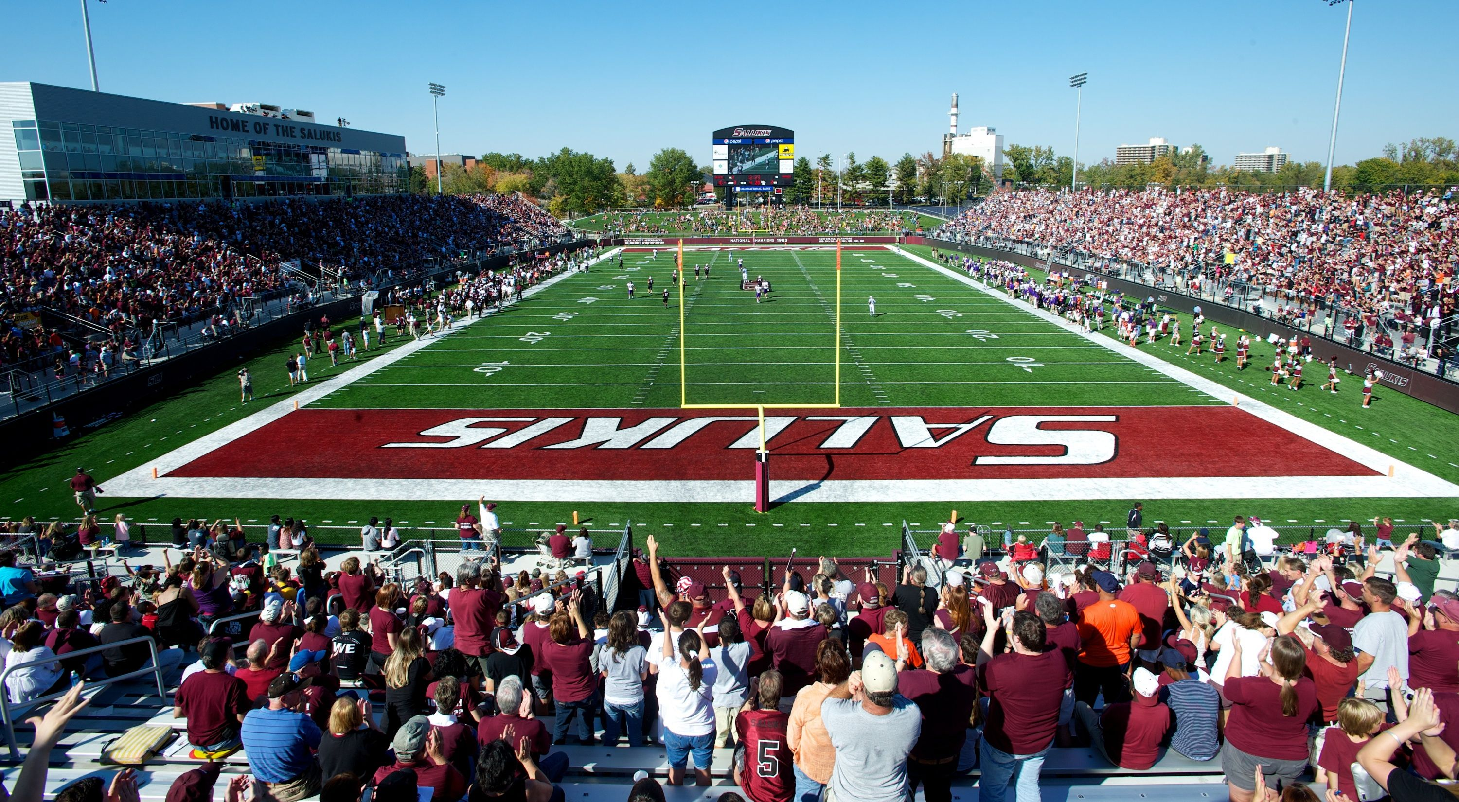 Southern Illinois University Official Athletic Site Facilities Illinois Football Southern Illinois Salukis Southern Illinois University