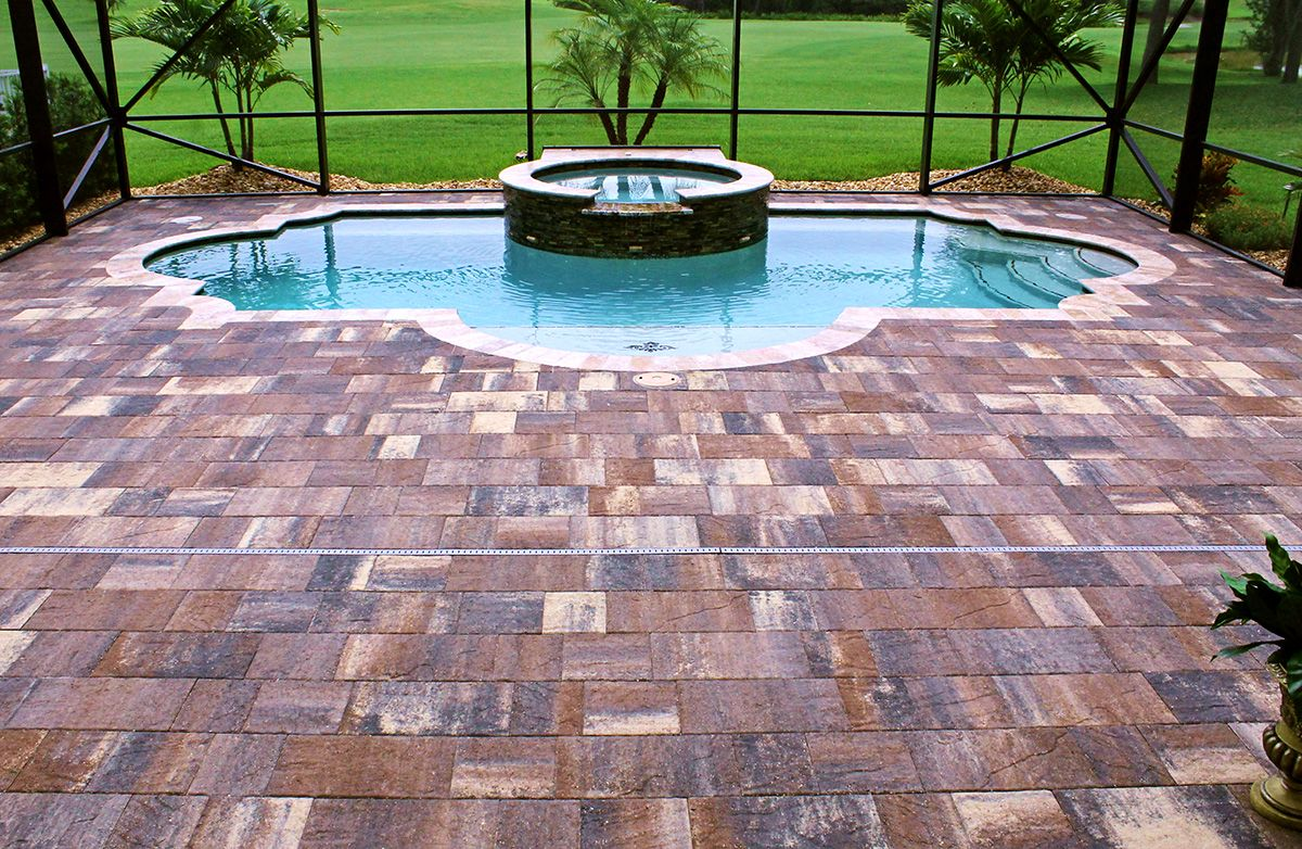 add a sense of grandeur when you use templehurst pavers from tremron to design your pool