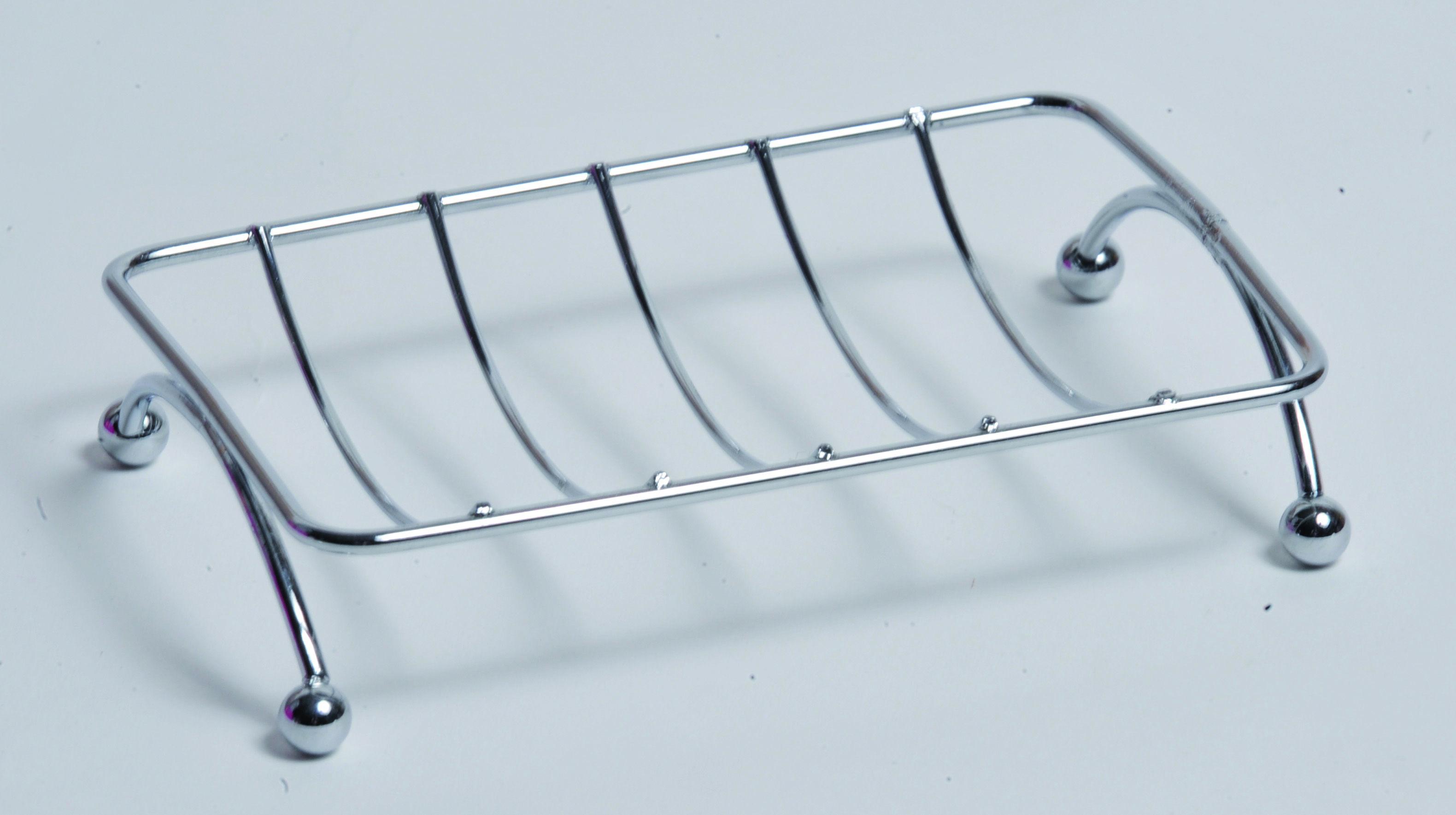 Metal soap dish chrome | Organize your bathroom | Pinterest | Soap ...