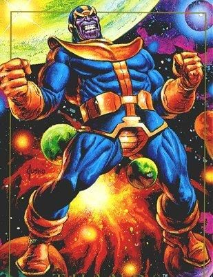 marvel comics thanos