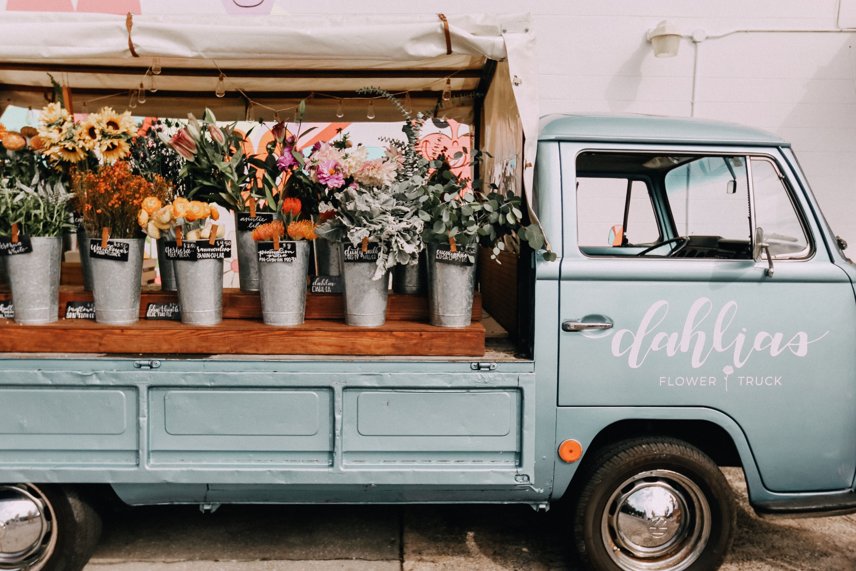 Pin By Megan O Rourke On M Y P H O T O S Flower Truck Dahlia Flower Dahlia