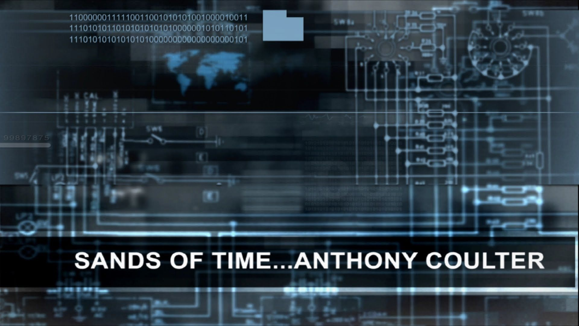 SANDS OF TIME   ANTHONY COULTER