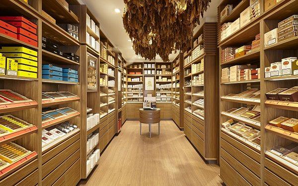 Design showcase: Davidoff flagship in Basel. Wir haben den Flagship Store in Genf realisiert.