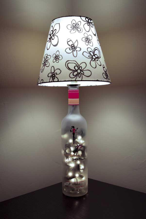 Skinny Girl Bottle Lamp