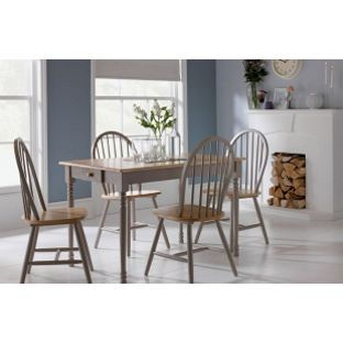 Very Reasonably Priced But Would Definitely Need Seat Covers Country Kitchen 4 Chairs From Homebasecouk