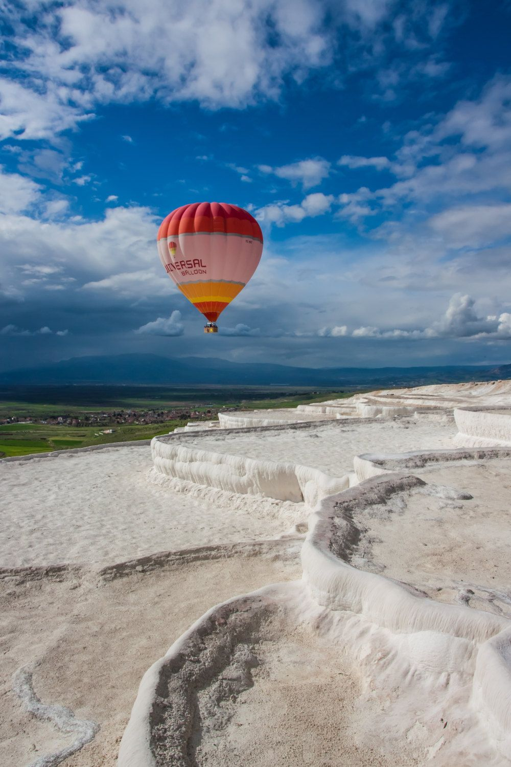 Good morning from Pamukkale! Do you know that they have