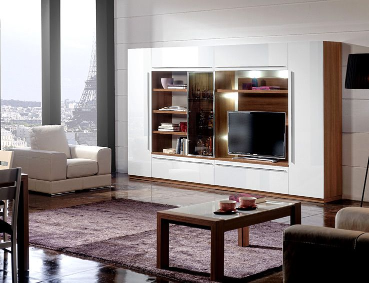 Mueble de TV Moderno Manor Material DM Densidad Media Mueble
