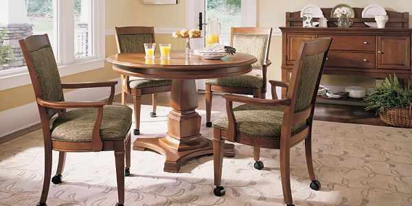 Classic Shaker Elements Unite Past And Present, Blending Comfort With Chic  Architectural Forms Bridges Dining Room Furniture By Thomasville Furniture