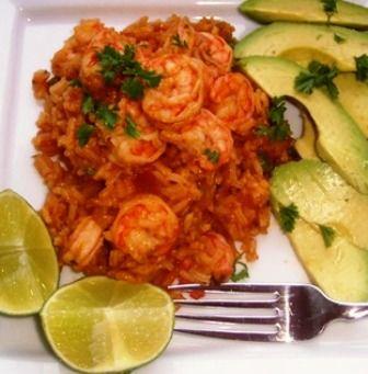 Photo of Rice with Shrimp (Arroz con Camarones)