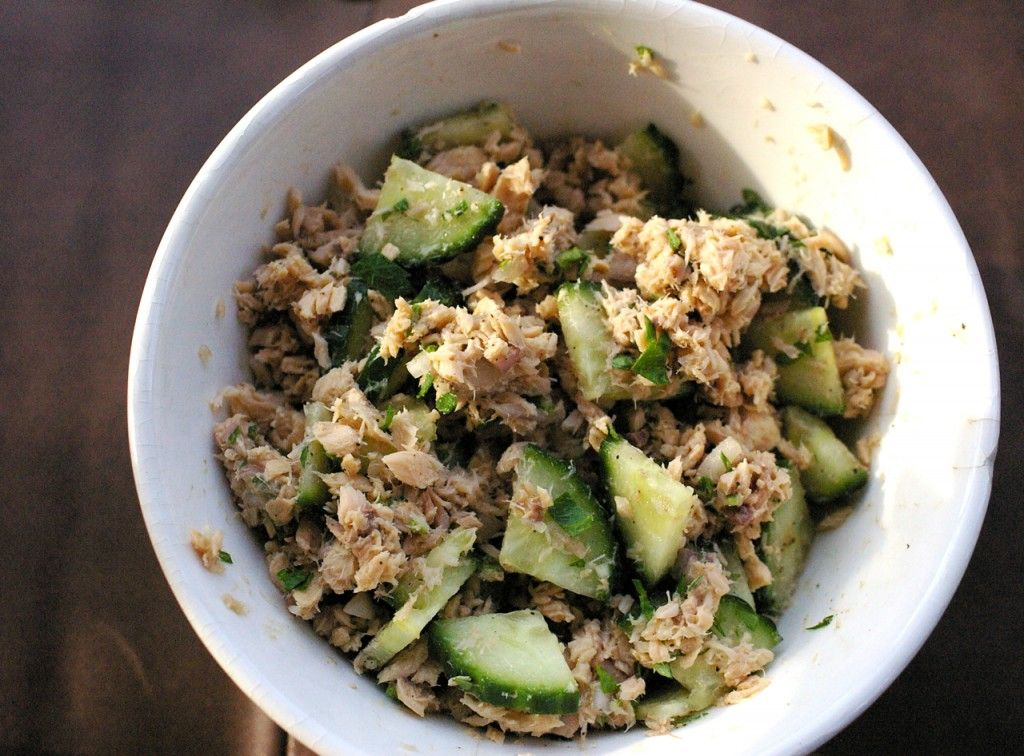 Wild Canned Salmon salad! can't wait to try this!