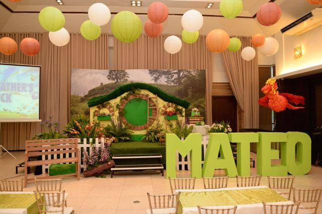 Mateos The Hobbit Themed Party 1st Birthday Themed parties and