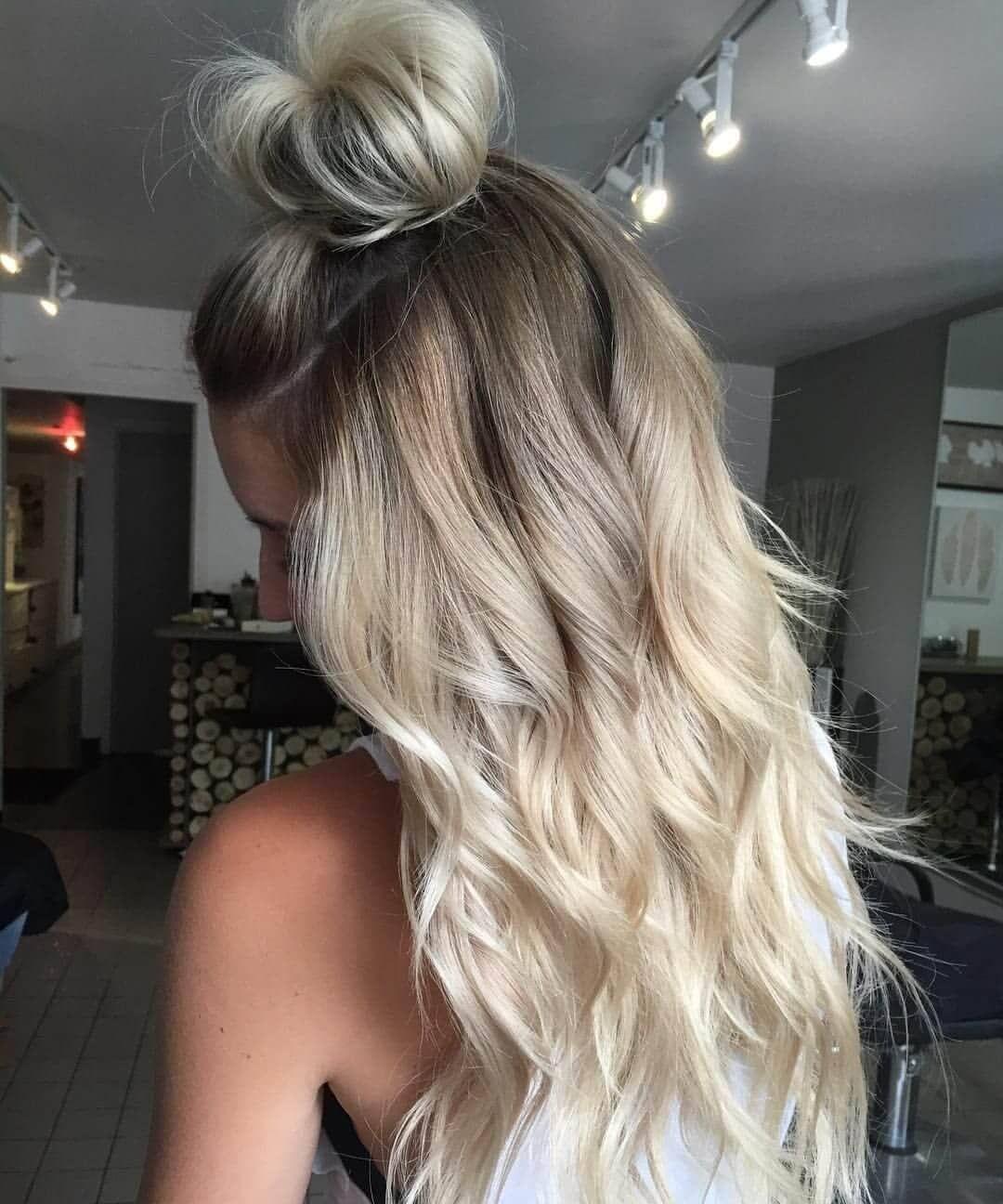 50 Beweise, dass jeder die blonde Ombre Frisur abziehen kann #blondeombre
