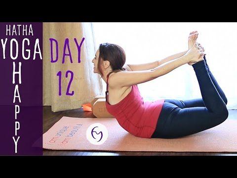 Day 12 Hatha Yoga Happiness: SMILE! - YouTube   A Yoga