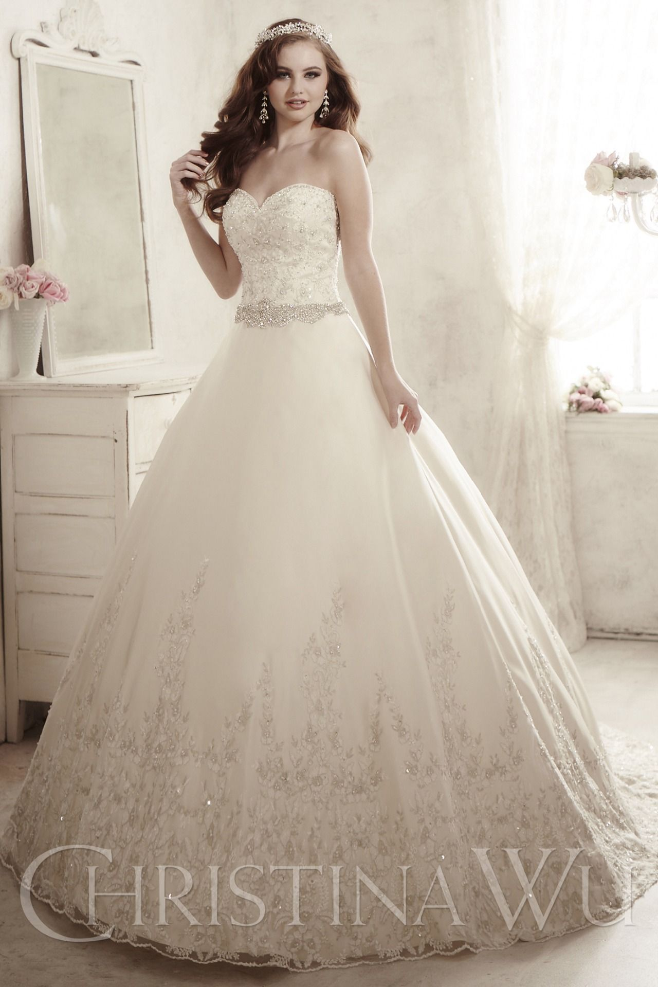 Christina Wu Bridal Gown Newcastle | wedding dresses | Pinterest ...