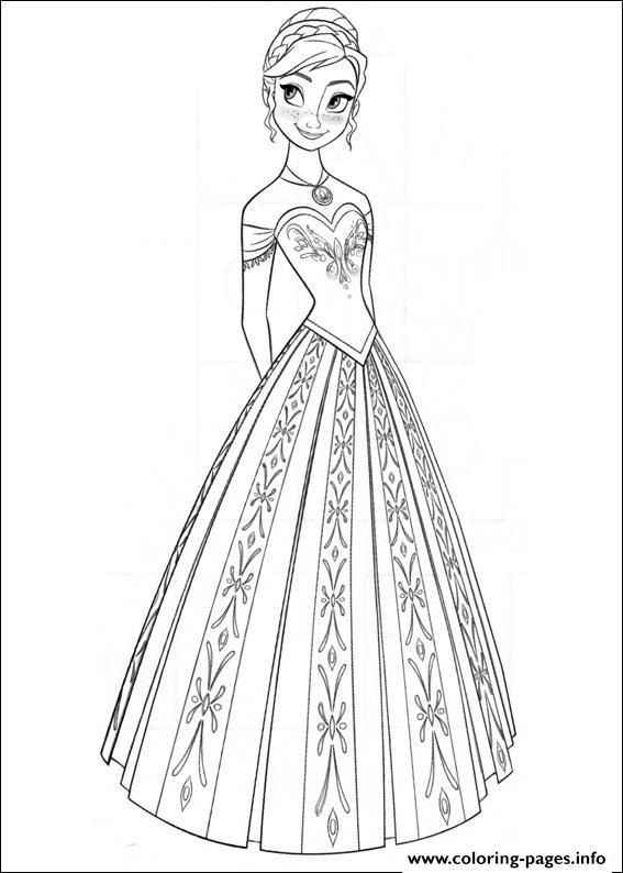Print frozen 09 coloring pages | Frozen Coloring Pages | Pinterest