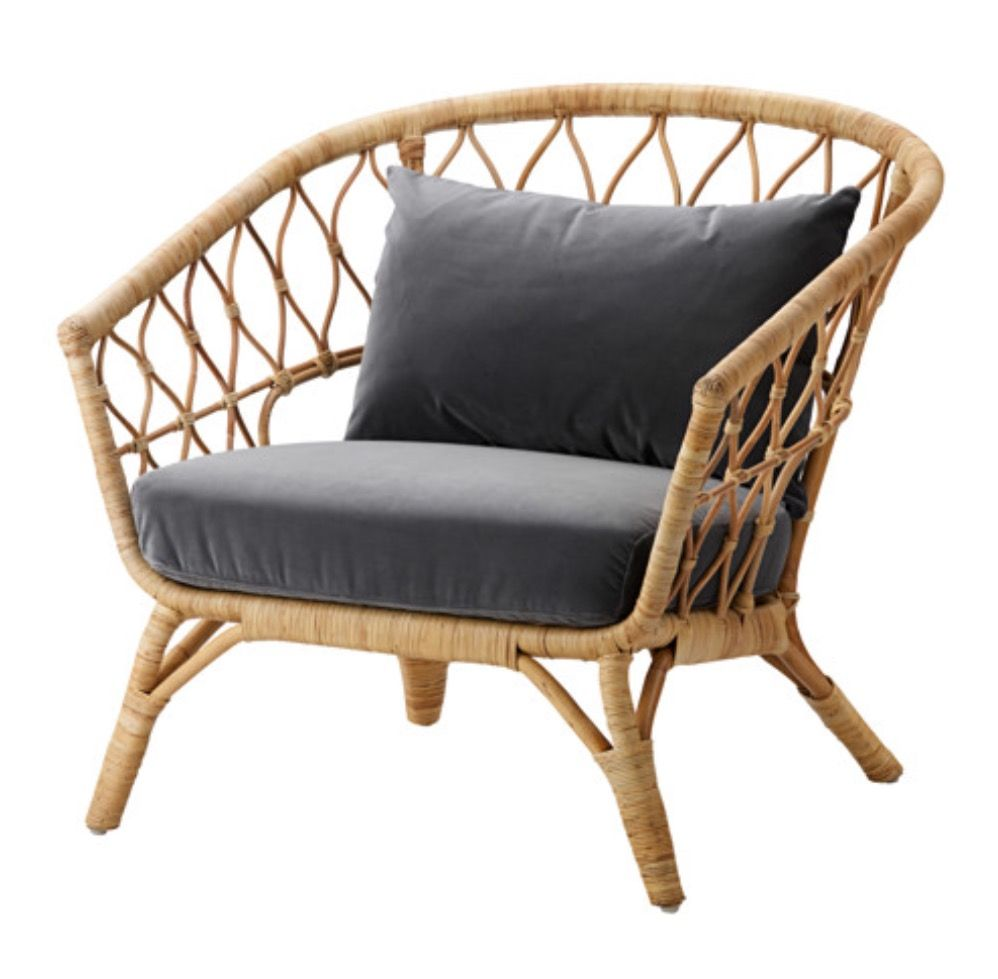 Poltrone In Rattan Ikea.Ikea Stockholm Chair Living Room Cushions Ikea Ikea