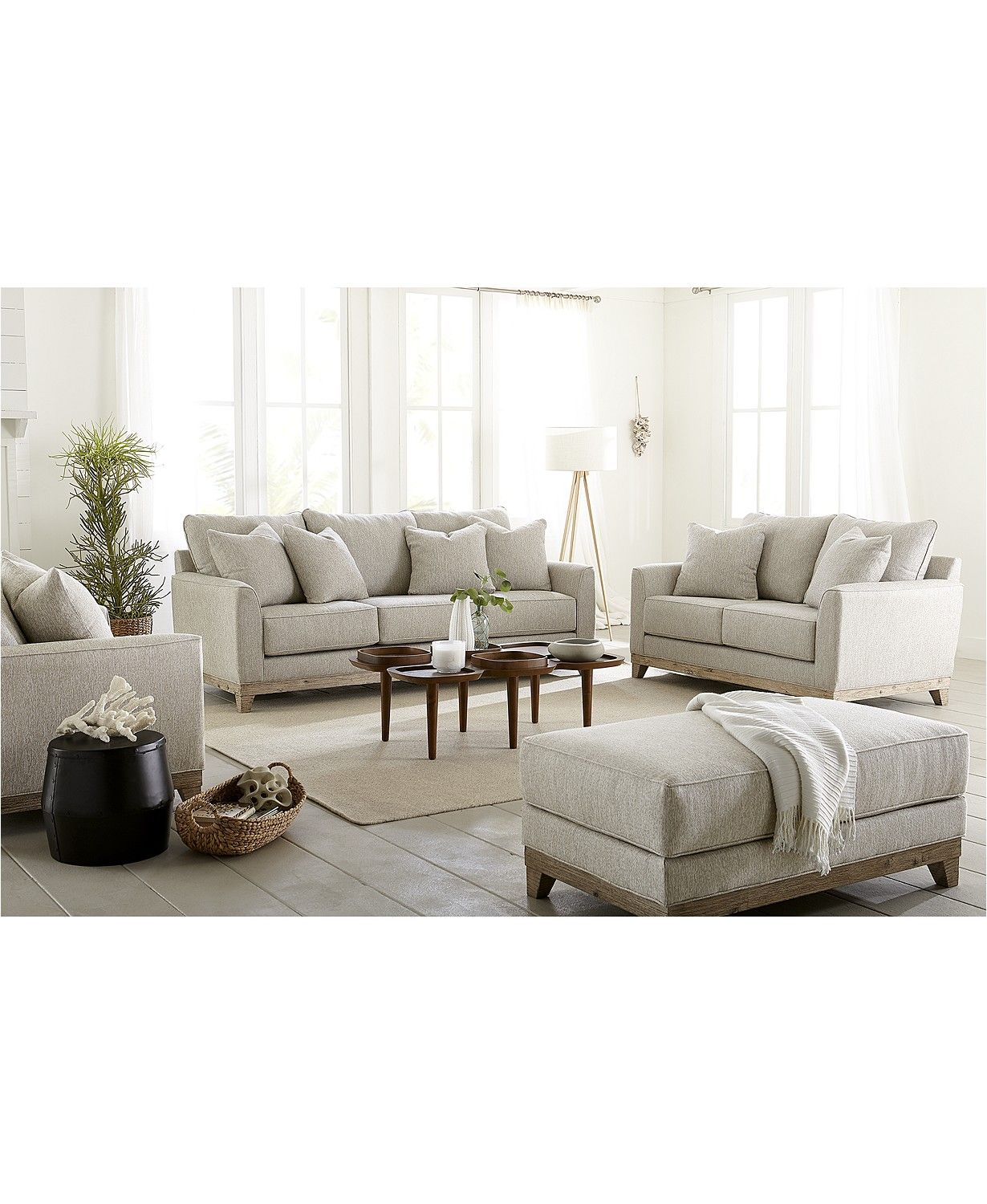 Furniture Brackley 94 Fabric Sofa Created For Macy S Reviews