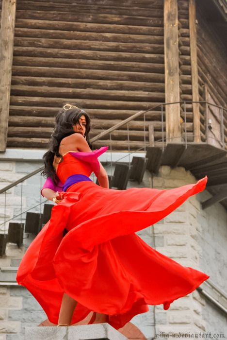 Esmeralda from the hunchback of notre dame cosplay pinterest esmeralda festival of fools costume solutioingenieria Choice Image