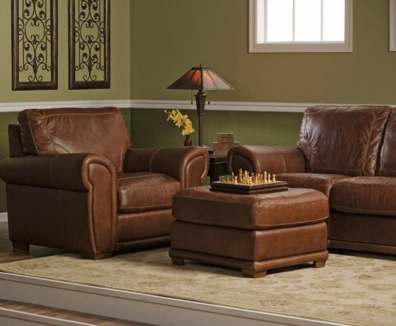 Spence Leather Sofa Set from Leather Furniture Expo