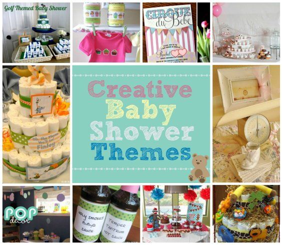 Creative Baby Shower Themes Baby Baby Showers Galore Pinterest