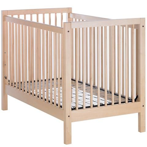 Andersen Crib Maple The Land Of Nod Cribs Wooden Baby