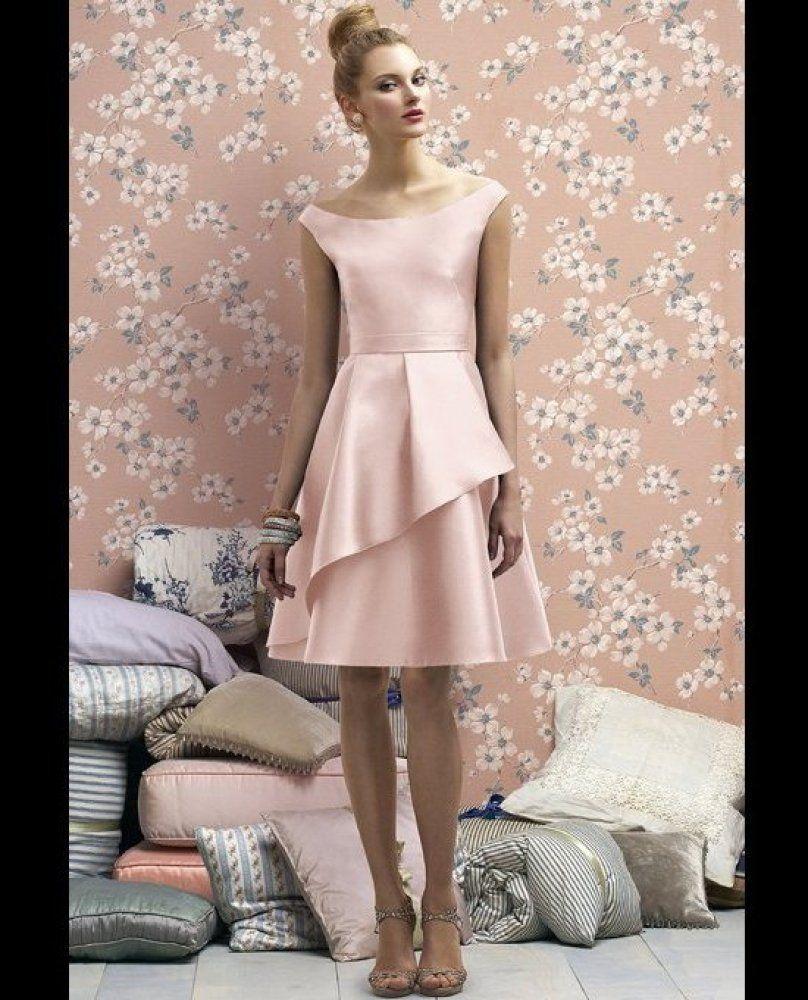 Pastel pink rina bridesmaid dresses pinterest pastel