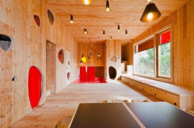 kita josef felder strasse by hiendl schineis architekten. Black Bedroom Furniture Sets. Home Design Ideas
