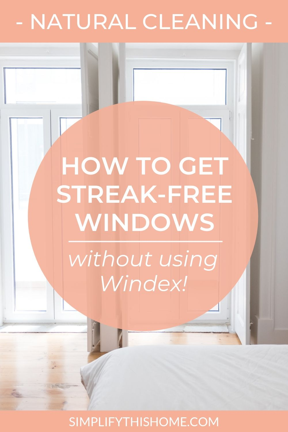 My Secret for StreakFree Mirrors and Windows (and it isn