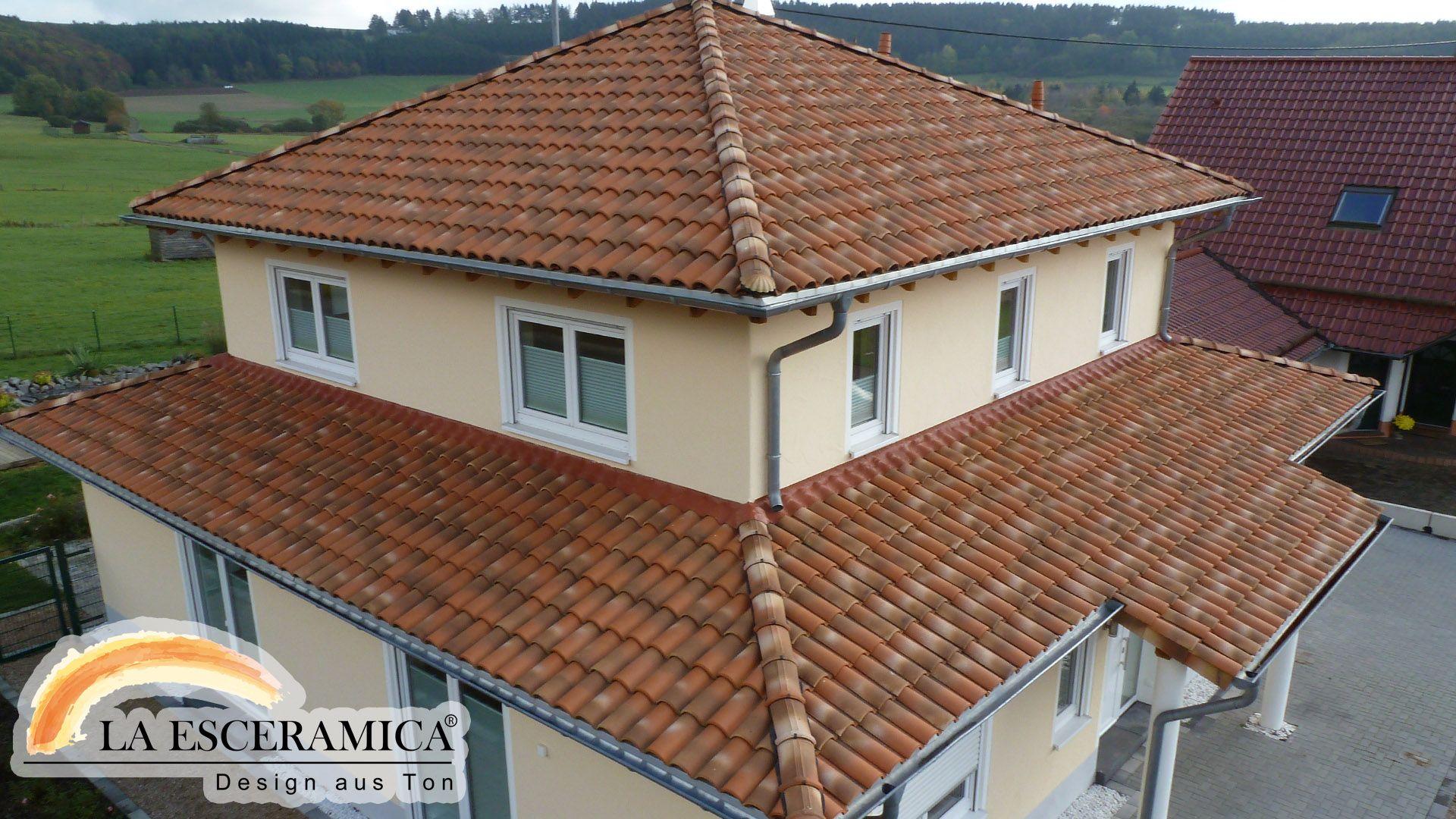 La Esceramica Dachziegel Farbe Toskana