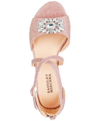 08307fbeb Badgley Mischka Pernia Gems Sandals