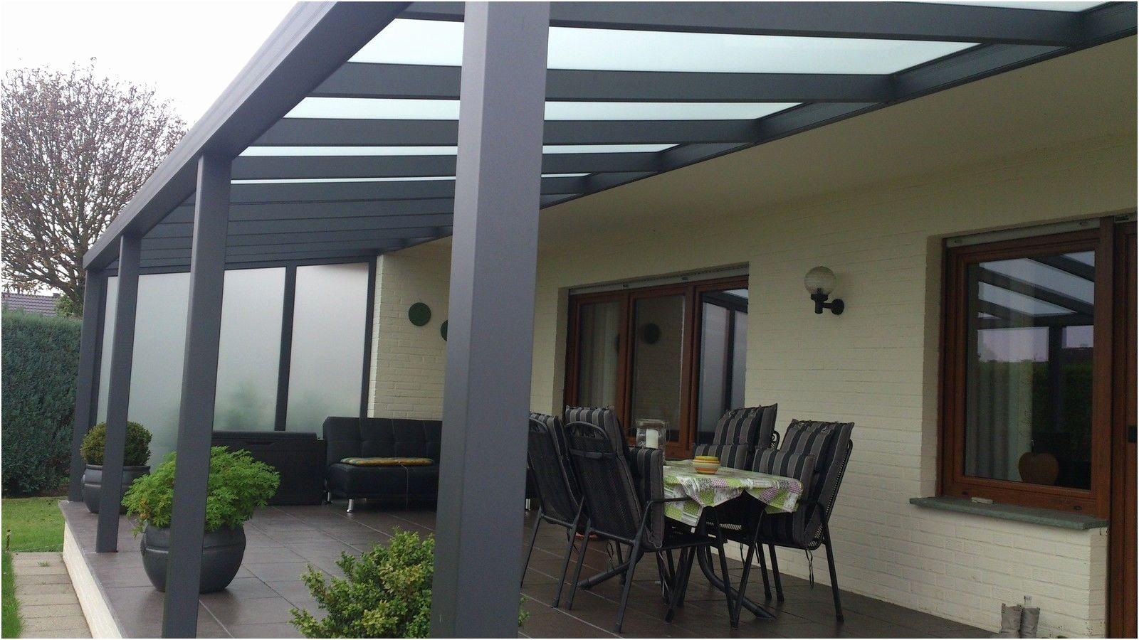 Terrassenüberdachung Alu Bausatz Luxus Terrassendach